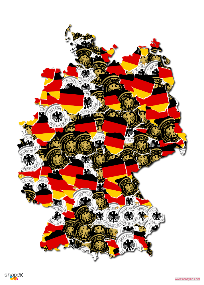 Germany Mask Collage