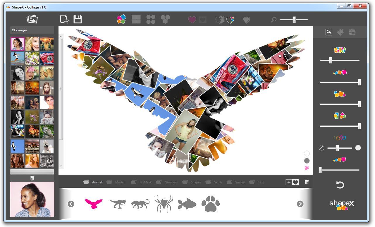 ShapeX - Collage full screenshot